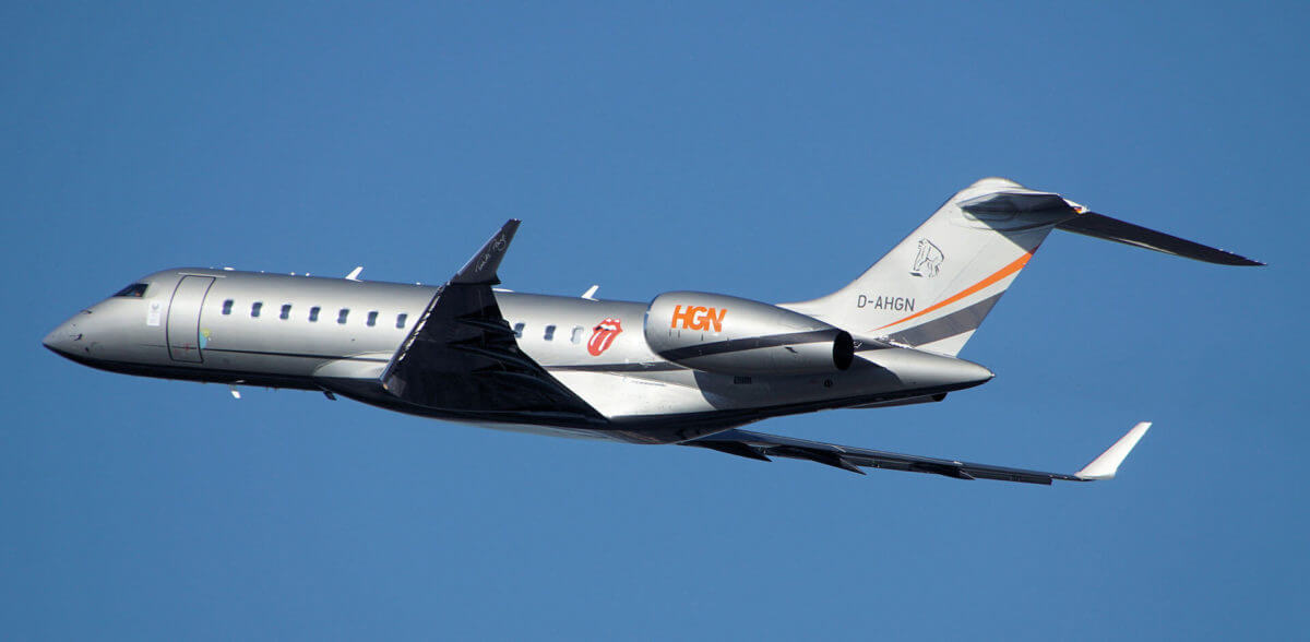Bombardier Global 6000 D-AHGN Privatjet