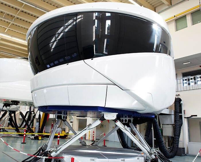 Pilotentraining im Flugsimulator