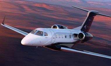 Privatjet mieten - Business Jet in der Luft